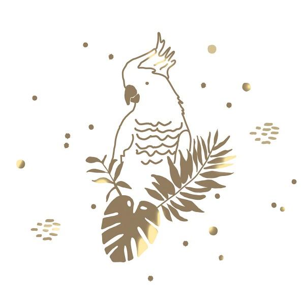 Exotisch: der goldene Papagei von MIMI'lou