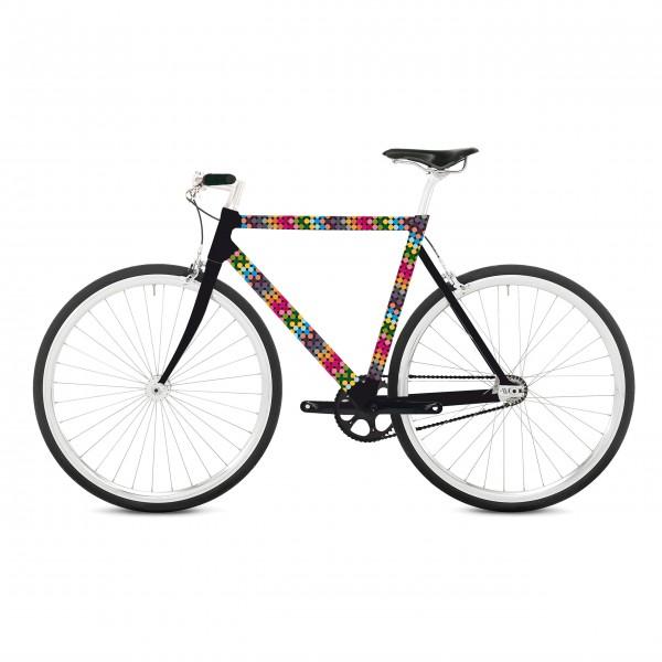 Haut Couture für den Drahtesel: Fahrradfolie von Remember