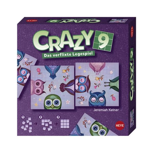 """Legespiel """"Crazy9 Ketner Owls"""" von HEYE"""