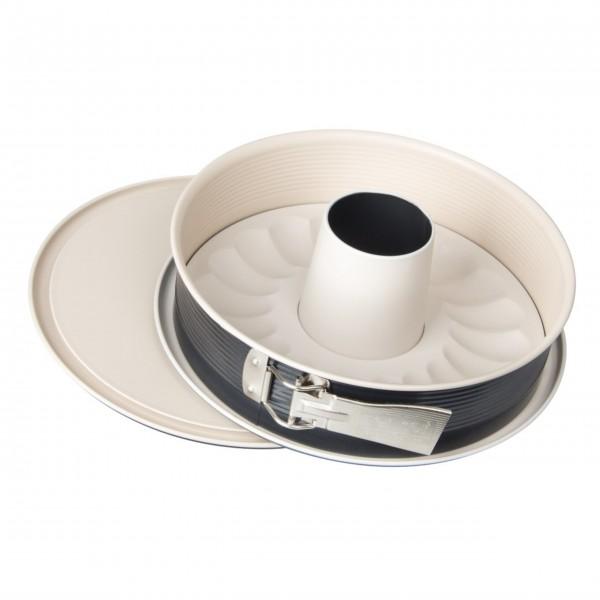 """Zenker Springform mit Flach- und Rohrboden """"Crème Noir"""" - Ø26 cm-1"""