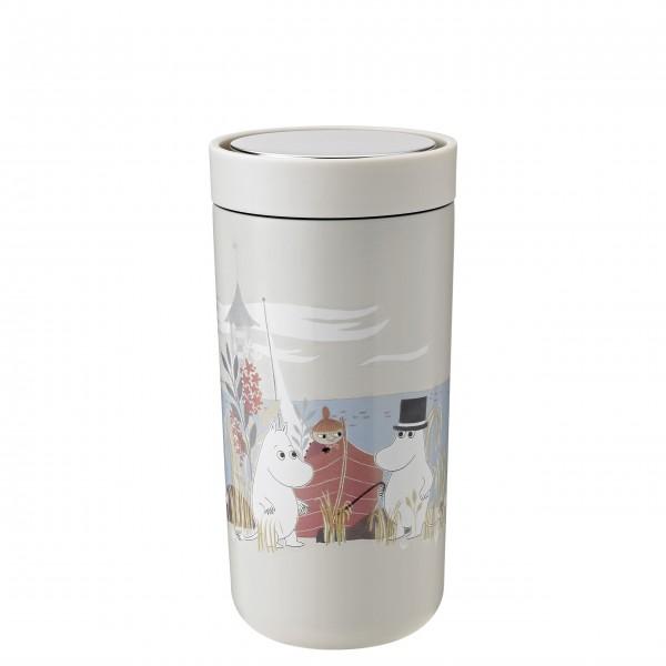 Hochwertiger Thermobecher Moomin von Stelton