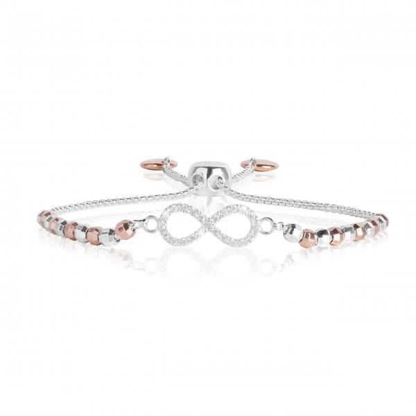 "Armband ""Amulet - Infinity"" (Silber/Roségold) von Joma Jewellery"