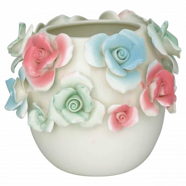Bezaubernde Blumenvase aus Keramik - von GreenGate