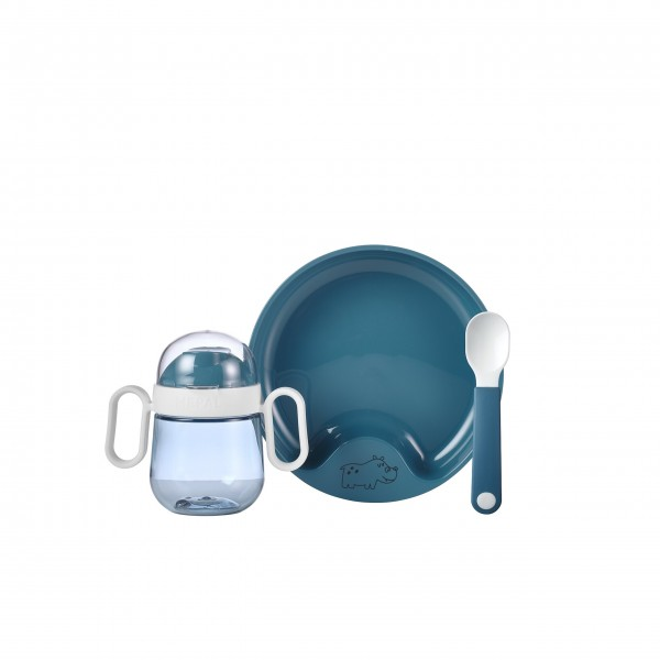 "Mepal Babygeschirr-Set ""Mio"" (Deep Blue) - 3-tlg."