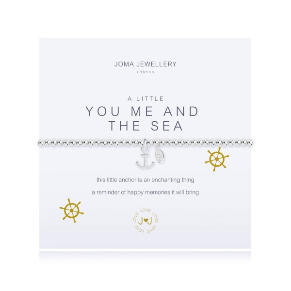 "Armband ""a little - You Me And The Sea"" von Joma Jewellery"
