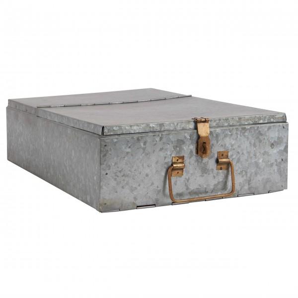 Formschöne Metallaufbewahrung von Ib Laursen
