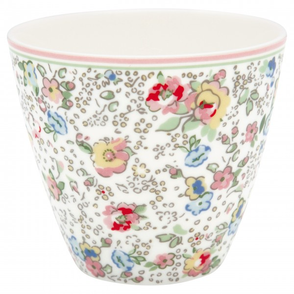 "GreenGate Latte Cup ""Vivianne"" (White)"