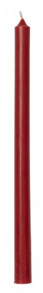"""Ib Laursen """"schmale hohe Kerze"""" (rot) im 12er-Set"""