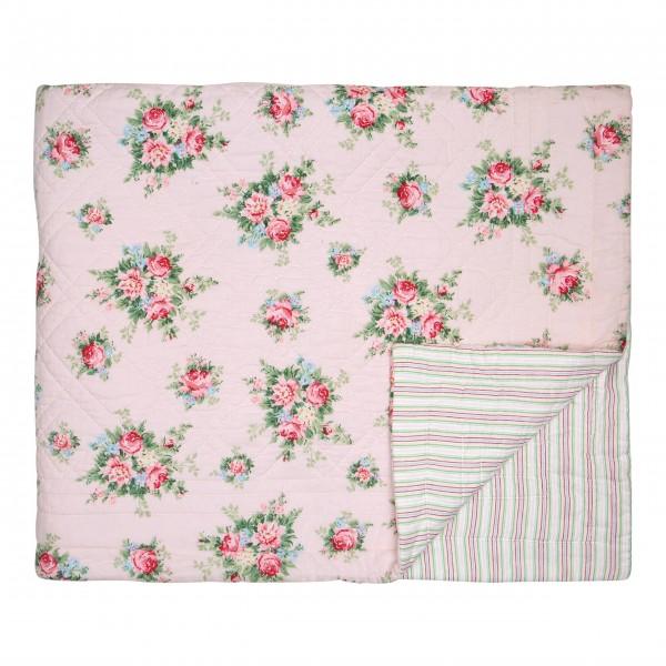 """GreenGate Quilt """"Aurelia"""" (Pale Pink) - 250 x 260 cm"""