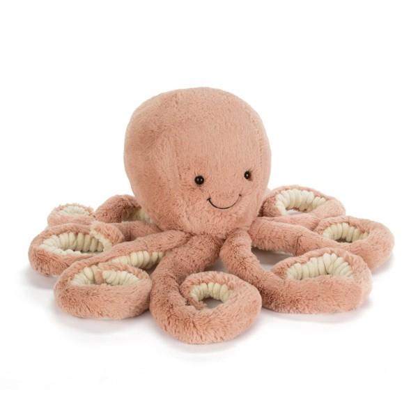 "Jellycat Kuscheltier Octopus ""Odell"" - Mega (Rosa)"