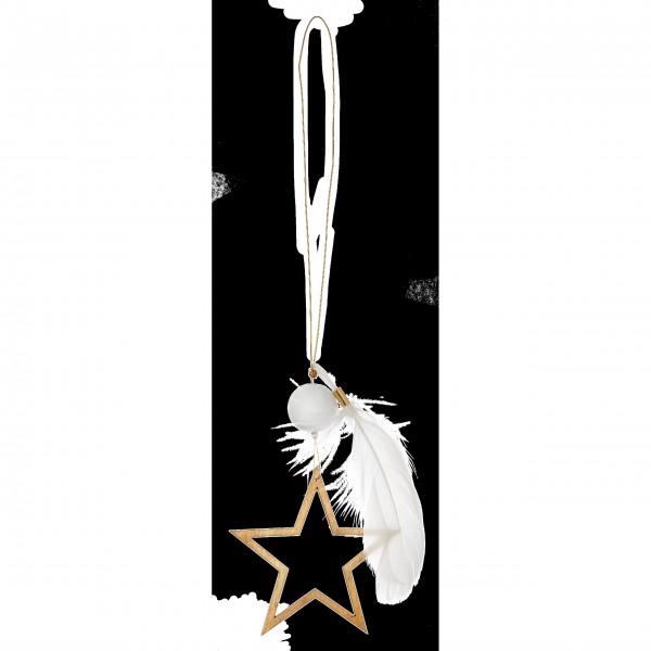 """Porzellanstern """"Weihnachtszauber Goldstern"""" (Gold) von räder Design"""