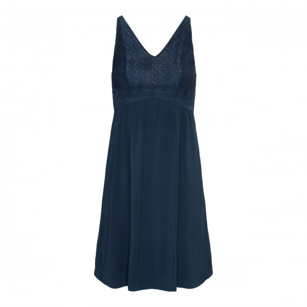"Essenza Nachthemd ""Sarah Uni"" - XL (Blau)"