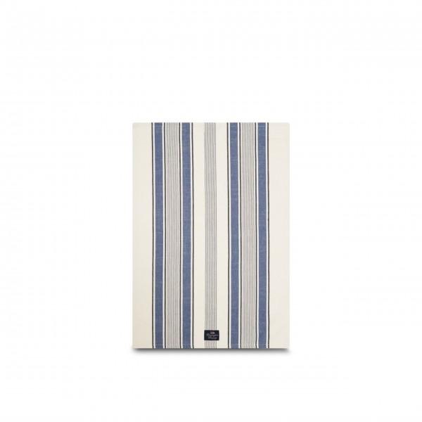 Lexington Geschirrtuch aus Baumwolle - 50x70 cm (Blau/Weiß)
