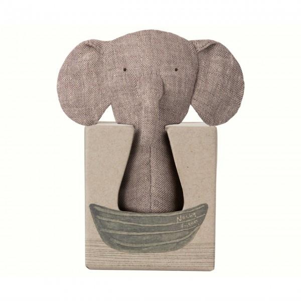 Zuckersüßer Rassel-Elefant von Maileg
