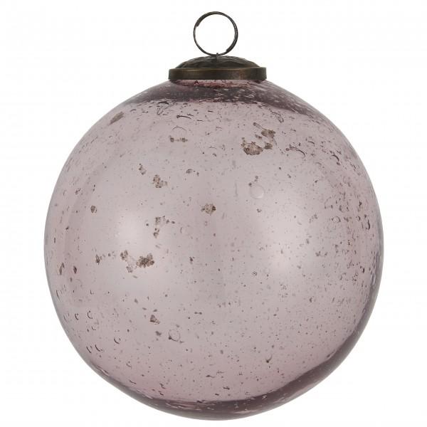"""Ib Laursen Weihnachtskugel """"Stillenat®"""" - Ø: 13,4 cm """"Rosa"""""""