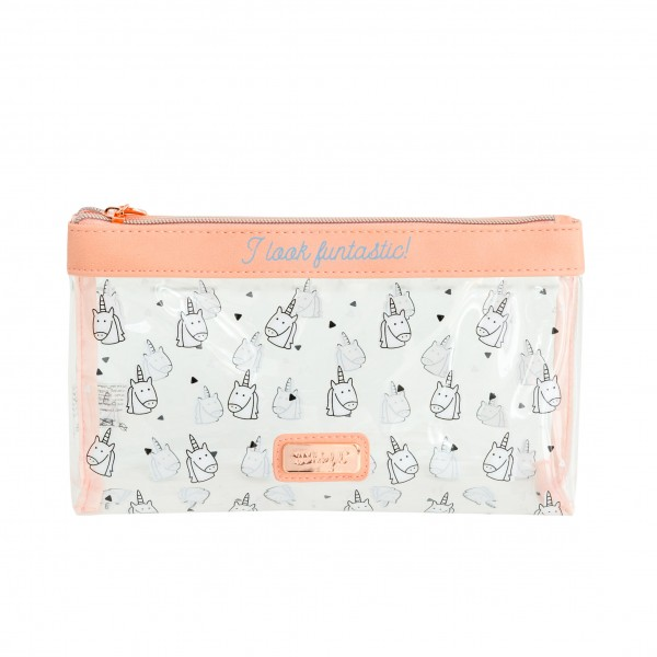 "Kosmetiktasche ""I look funtastic!"" von mr. wonderful*"