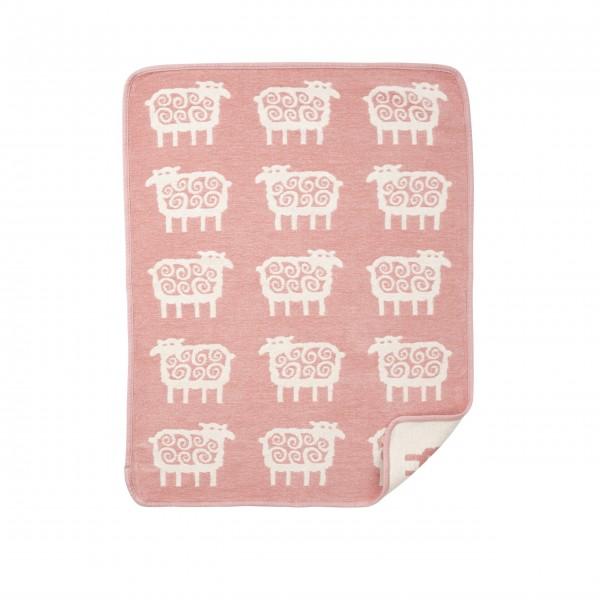 "Klippan Kinderdecke ""Sheep"" in pink"