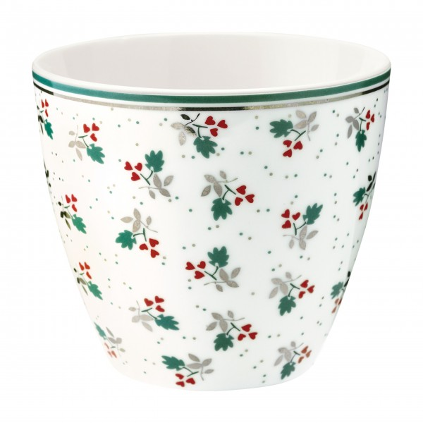 "Greengate Latte Cup ""Joselyn"" (White)"