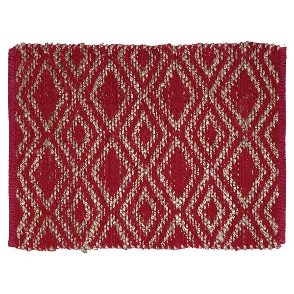 Rotfarbener Teppich von GreenGate