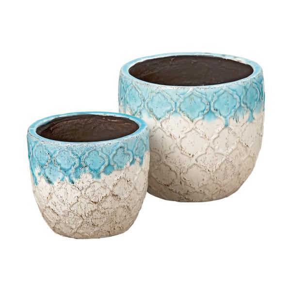 Da kann der Sommer kommen - Keramiktopf im Set