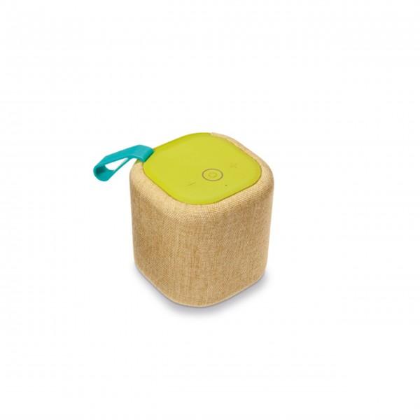 """Bluetooth-Lautsprecher Basso """"Verde"""" (Gelb) von Remember"""