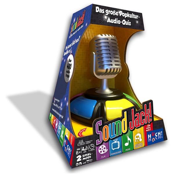 Sound Jack - Das einzig wahre Popkultur-Audio-Trivia-Quiz für die ganze Familie