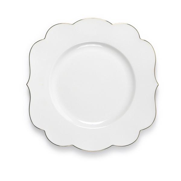 Eleganz für den Frühstückstisch mit dem Teller von PiP Studio