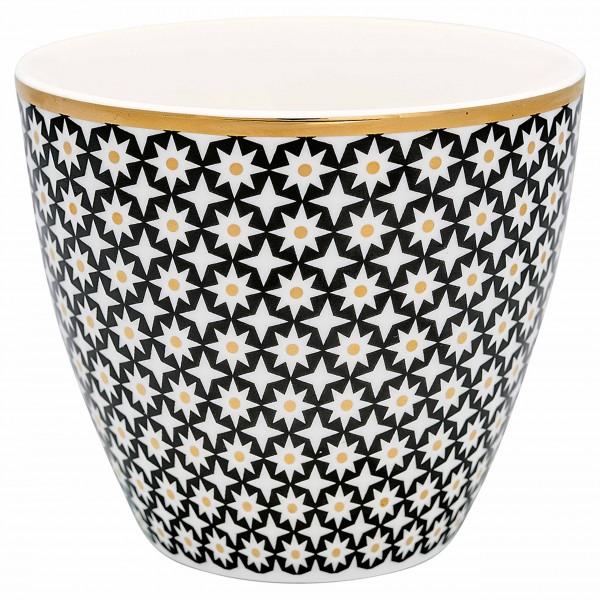 """Latte Cup """"Lara"""" von GreenGate mit goldenen Details"""