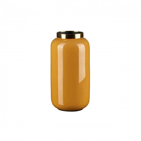"""Vase """"Saigon"""" - XS (Saffron/Gold) von Gift Company"""
