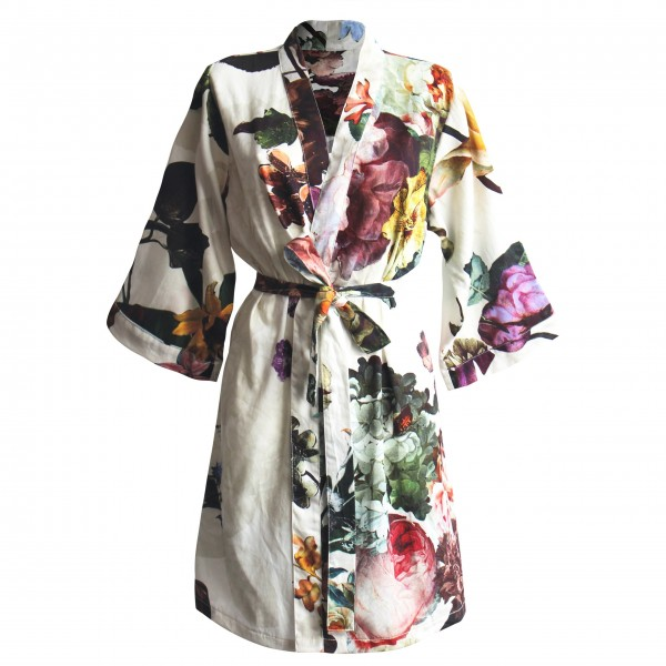 "Essenza Kimono ""Fleur"" - M (Ecru)"