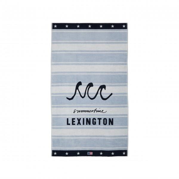 "Lexington Strandtuch ""Graphic"" (Hellblau)"