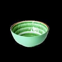 """Rice Melamin Schüssel """"Swirl"""" (Grün)"""