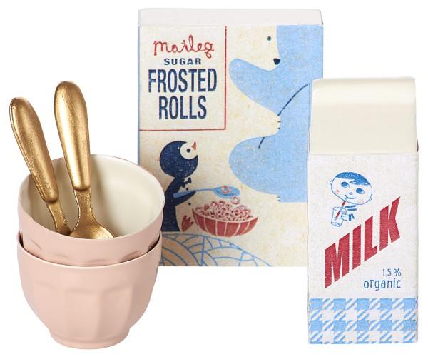 Frühstücksset für kleine Stoffhäschen von Maileg