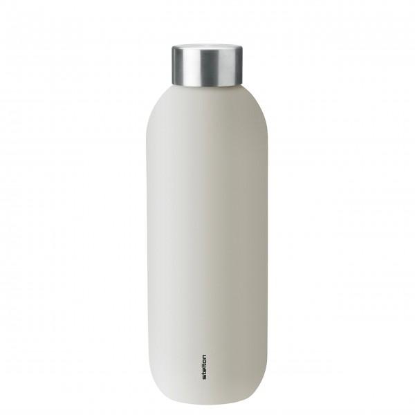 "Stelton Trinkflasche ""Keep Cool"" - 600 ml (Sand)"
