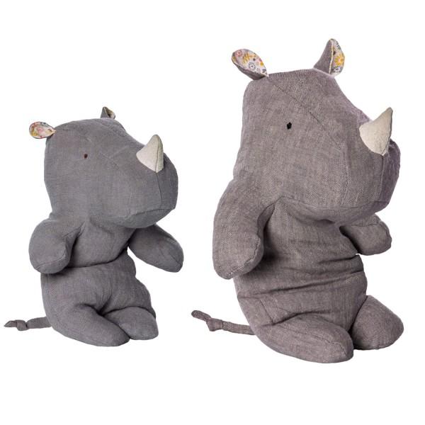 kleines oder großes Stoff-Nashorn von Maileg?!