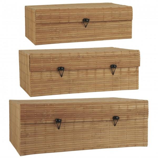 Ib Laursen Schachtel-Set - Bambus