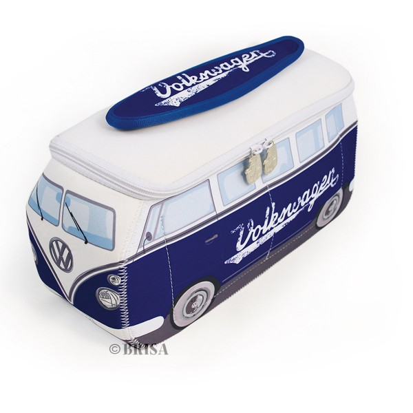 Kultige Kulturtasche im VW Bulli Design