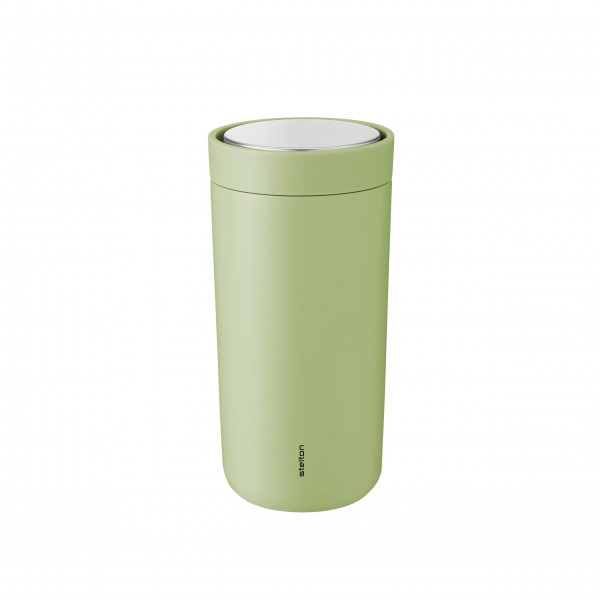 "Stelton Thermobecher ""To-Go Click"" - 400 ml (Soft green)"