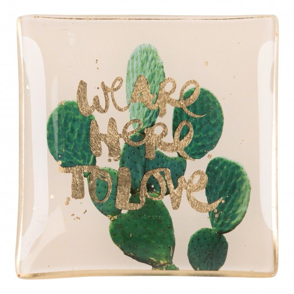 """Gift Company Glasteller S """"We are here to love"""""""
