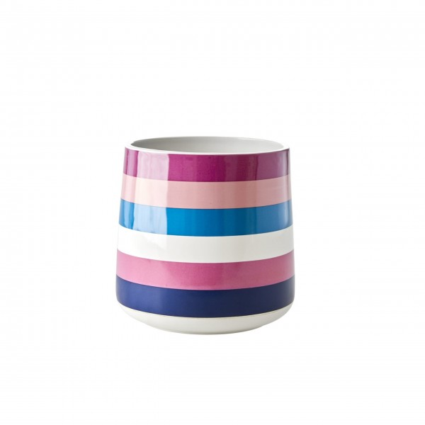 "Rice Keramik Krug ""Stripe""-1"