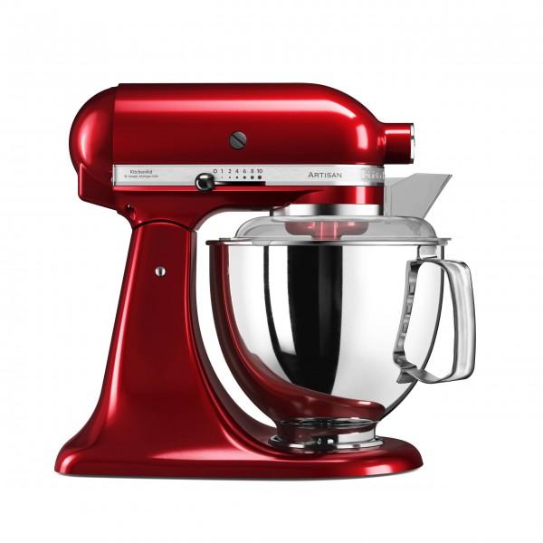 Die Artisan® Küchenmaschine von KitchenAid unterstützt Sie durch ihre vielseitigen Anwendungsbereiche