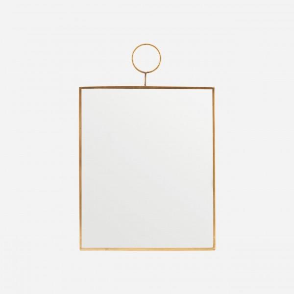 Spiegel Loop von House Doctor - 25x30 cm (Gold)