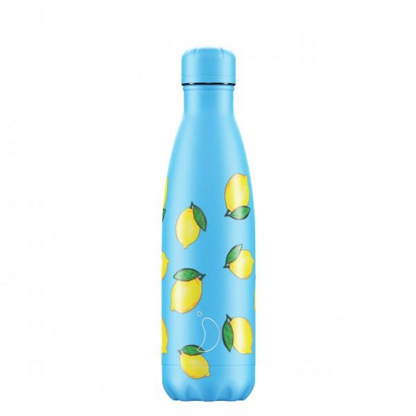 "CHILLY´S Bottle Isolierflasche ""Lemon"" - 500ml"