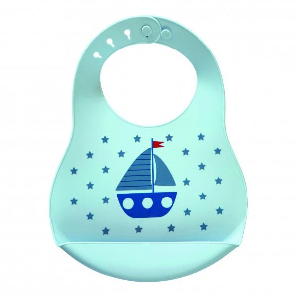 """GreenGate Kinder-Lätzchen """"Noah"""" (Blue)"""