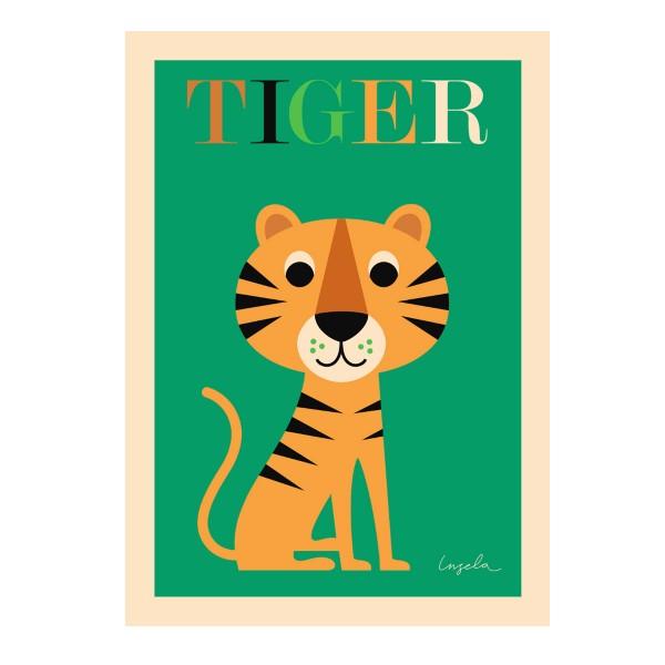 """OMM design - Poster für Kinder """"Tiger"""""""