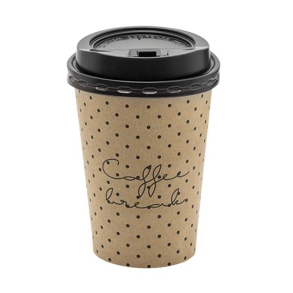 """Bloomingville Kaffebecher """"ToGo"""" (Braun) - 8er-Set"""