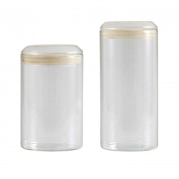 """Cleaner Look von Nordal: Vorratsgläser """"Jar"""""""