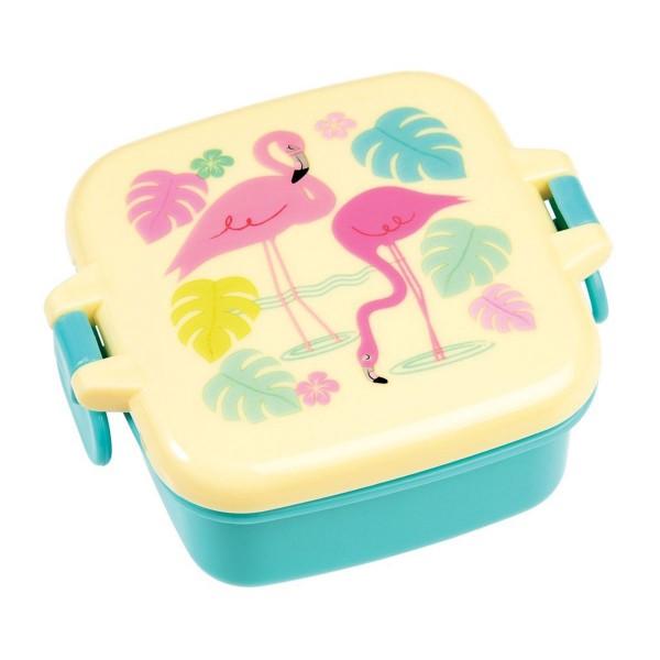 """Für gute Laune in der Mittagspause - Snackdose """"Flamingo Bay"""""""