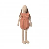 """Maileg Hase Mädchen """"Jumpsuit"""" - 64 cm (Rosa)"""
