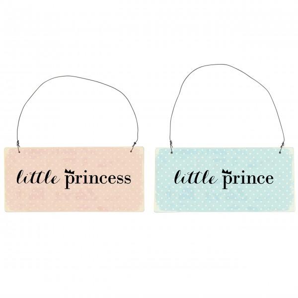 Für kleine Prinzen & Prinzesinnen - Schild von Ib Laursen